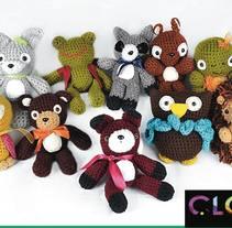 Colección bosque. A Character Design, Crafts, To, and Design project by  Elda  Campos - 07-12-2014