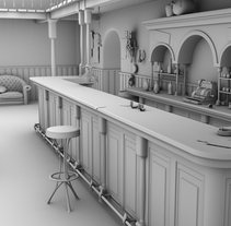 3D-High Poly. A 3D project by Ismael Moreno - 11-12-2014