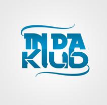 In Da Klub - Logo. Un proyecto de Diseño gráfico de Alessio Pellegrini         - 01.02.2012