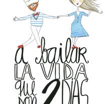 doyoubailas? - Web. Un proyecto de Diseño, Ilustración, Br, ing e Identidad y Artesanía de Verónica Maraver - 08-12-2014
