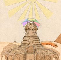 ¡Qué calor!. Um projeto de Ilustração de Mauricio Ortega Bustamante         - 24.12.2014