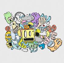 Lo primero que me pasó por la cabeza. Un proyecto de Ilustración y Diseño de personajes de Isaac González         - 28.12.2014