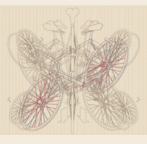 Bici 3D. Un proyecto de Ilustración de Aitor Lubián Sánchez - 01-01-2015
