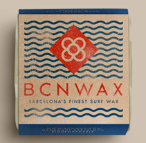 BCN WAX. A Br, ing, Identit, Creative Consulting, Art Direction, and Product Design project by Conspiracystudio  - 01.07.2015