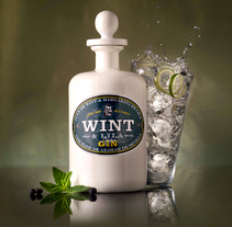 Wint&Lila Gin. A Graphic Design, Industrial Design, and Packaging project by Ideólogo         - 08.01.2015