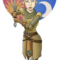 Brienne de Tarth. A Illustration project by Jaime Lopez Boyero         - 27.12.2014