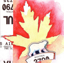 Dibujos canadienses. A Illustration, Fine Art, and Collage project by Pilar  Barrios Varela - 31-07-2012