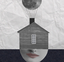 My moon. A Illustration, Fine Art, and Collage project by Helena Pallarés         - 13.01.2015
