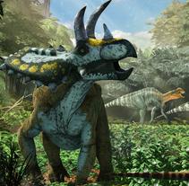Dinosaurios de Coahuila, México Desconocido Enero 2015. Un proyecto de Ilustración, 3D y Diseño editorial de Román García Mora         - 31.12.2014