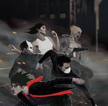 Tiempo de Heroes 1: La venganza de Pkinp. Un proyecto de Ilustración, Diseño de personajes y Diseño editorial de Jose Barrero - 17-01-2014