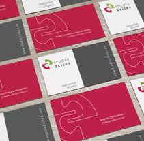 Studio 2 Cités - Identidad. Um projeto de Br e ing e Identidade de americalira         - 18.09.2013