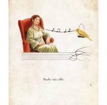 Mucho más allá - H magazine. A Illustration project by ANA  HIMES - Jan 20 2015 12:00 AM