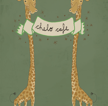 Chelo . A Design, Illustration, Br, ing, Identit, and Fine Art project by Laia  Domingo         - 19.01.2015