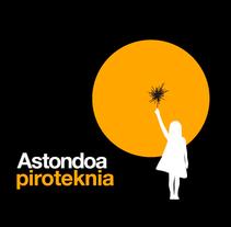 Astondoa piroteknia. Un proyecto de Diseño, Br, ing e Identidad, Diseño editorial, Diseño gráfico y Diseño de interiores de TGA +  - 12-11-2014