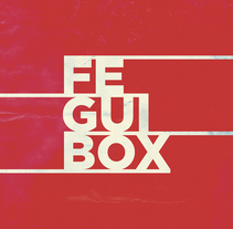 FEGUIBOX. A Design, Photograph, Art Direction, Br, ing, Identit, Graphic Design, T, and pograph project by Julio Gárnez         - 26.01.2015