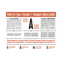 Placard MT Condensed. A Graphic Design, T, and pograph project by Julio Gárnez         - 26.01.2015