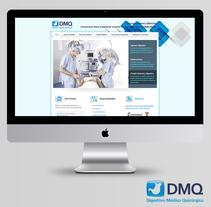 DMQ: Digestivo Médico Quirúrgico. A Design, Br, ing, Identit, Graphic Design, and Web Design project by Julieta Giganti         - 31.01.2015