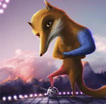 Zincha - Copa América de Fútbol 2015. Un proyecto de Ilustración y Diseño de personajes de Juan Martín Bueno         - 01.02.2015