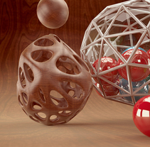 3D ABSTRACTO. A 3D and Motion Graphics project by Adrián  Andújar - 02.05.2015