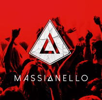Logo - DJ SEBASTIAN MASSIANELLO . Un proyecto de Música, Audio y Diseño gráfico de Diego Jzo         - 10.02.2015