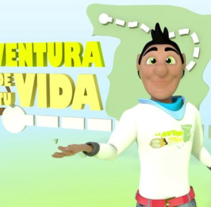 La Aventura de tu Vida. A Advertising, 3D, Animation, Character Design, and Post-Production project by JOSE MIGUEL RODRIGUEZ PRIETO         - 09.02.2015