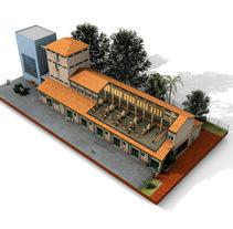 Establecimiento Las Marías (Argentina) - Elaboración de la yerba mate. Um projeto de Ilustração e 3D de 90grados.info         - 09.02.2015
