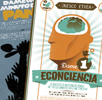 DAME 1 MINUTO DE... (UNESCO ETXEA). A Illustration, Graphic Design, and Lighting Design project by Pablo Campo Rojo - 10-02-2015