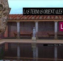 Virtualización de las Termas de la Alcudia. Yacimiento romano.. A Design, 3D, Animation, Architecture, Character Design, and Graphic Design project by Antonio Nuño Moreno - 10-02-2015