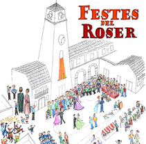 Cartel Festes del Roser 2013. A Design&Illustration project by Victoria Blasco Carrau         - 16.06.2013