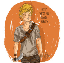 Newt. The Maze Runner. A Design, Illustration, and Character Design project by Alessandra Casas Comesaña         - 16.02.2015