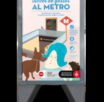 Guia de Serveis  - Ajuntament de Barcelona. A Advertising project by Manon Pueller Sans         - 17.02.2015