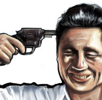 SONATINE FILM ILLUSTRATION. Um projeto de Ilustração e Cinema de Jorge Amor Morales         - 01.03.2015