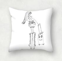 DONATA y su MALETA. Um projeto de Design, Ilustração, Design de interiores e História em quadrinhos de donata margiotta         - 04.03.2015