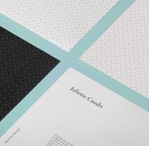 Juliette Caudis - Interior Design Branding. A Design, Graphic Design&Interior Design project by Ludivine Dallongeville         - 31.01.2015