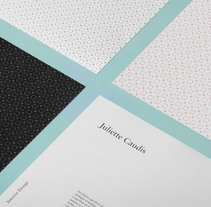 Juliette Caudis - Interior Design Branding. A Design, Interior Design, and Graphic Design project by Ludivine Dallongeville - 02.01.2015