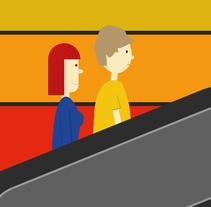 Storyboard: Direcciones. Um projeto de Ilustração, Cinema, Vídeo e TV, Direção de arte e História em quadrinhos de Diego García Cal         - 16.11.2014