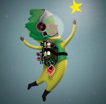 buscador de estrellas 3. A Illustration project by IlustrA         - 30.11.2014