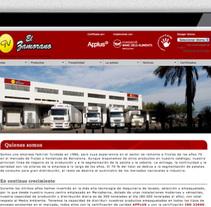 GV El Zamorano. Un proyecto de Br, ing e Identidad, Diseño Web y Desarrollo Web de José Ramón Viza         - 09.03.2015