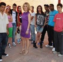 Prueba para La pecera de Eva (Isla Producciones). A TV project by Raquel Márquez         - 30.06.2009