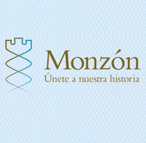 "Imagen corporativa y aplicaciones ""Monzón"". A Br, ing, Identit, Graphic Design, and Product Design project by Sandra Yago         - 11.03.2015"