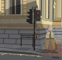 Streets of Oxford. Un proyecto de Ilustración de Ian Norris         - 14.03.2015
