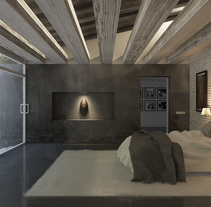 Infoarquitectura. Casa en la playa. Interior y exterior. A 3D, Architecture&Interior Architecture project by Carlos del Hierro López - 17-03-2015