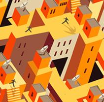 Portadas, sostenibilidad urbana, smart cities. Un proyecto de Ilustración de Marcelo Spotti         - 20.03.2015