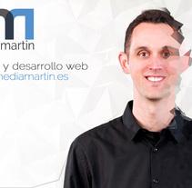 Portfolio personal online. Um projeto de UI / UX, Web design e Desenvolvimento Web de Martin Gonzalez Vazquez         - 31.12.2014