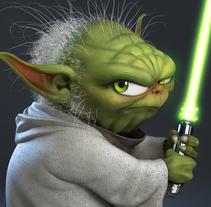Yoda. A 3D, and Sculpture project by Luis Gomez-Guzman - 03.23.2015
