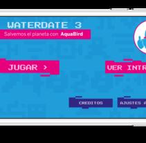 Waterdate 3 Juego para Iphone, Ipad y Android. Un proyecto de Diseño y Desarrollo de software de César Martín Ibáñez  - 23-03-2015