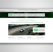 ASP CORREDURÍA. Um projeto de Web design e Desenvolvimento Web de Fiebre Creativa         - 24.03.2015