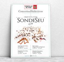 Didácticas · SondeSeu. A Design, Advertising, Art Direction, Events, and Graphic Design project by Isabel García Cobos         - 12.03.2015