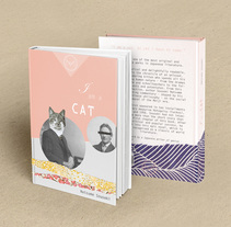 /// *I am a Cat*_book cover redesign . Un proyecto de Diseño editorial de Adriana Zurera         - 26.03.2015