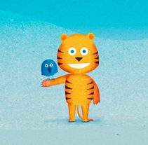 Samsung Kids Hub. Ilustraciones & Animaciones.. A Illustration, and Animation project by Santiago Liébana - Mar 06 2014 12:00 AM